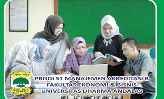 Mari bergabung bersama kami. Melalui Program Studi S1 Manajemen, kita bisa..