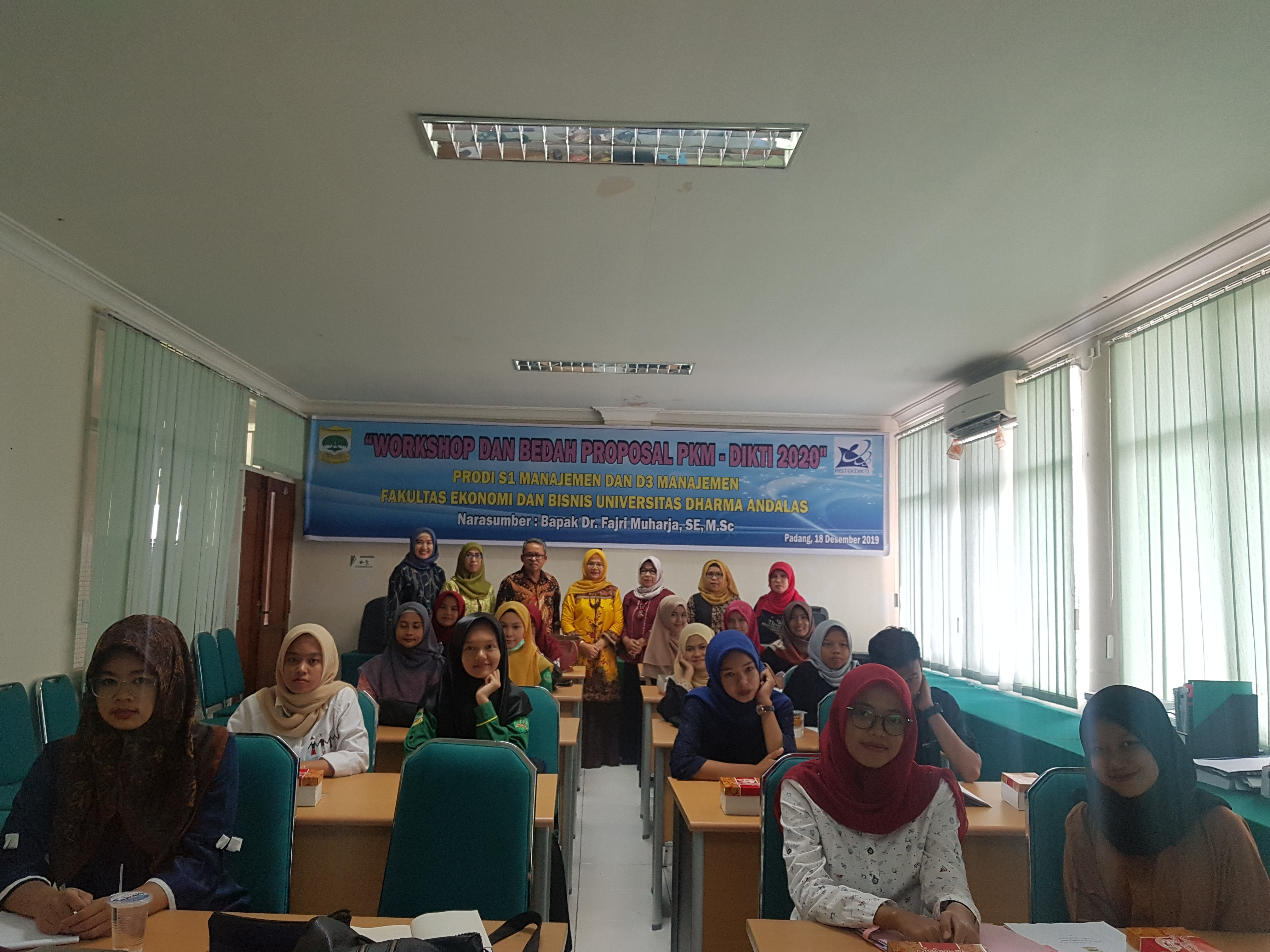 Workshop dan bedah proposal PKM-DIKTI 2020
