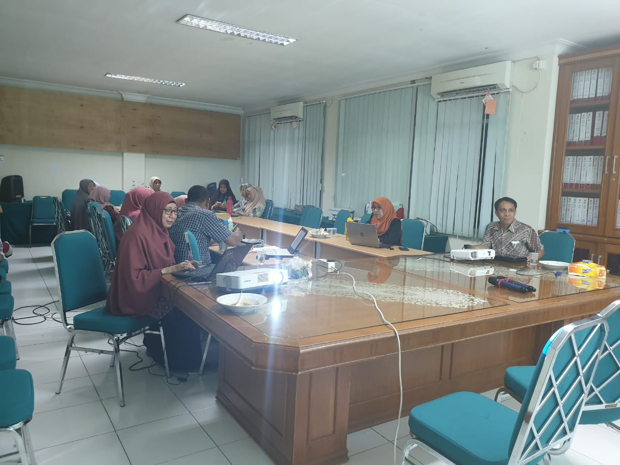 Diskusi hangat jelang submit AIPT Unidha