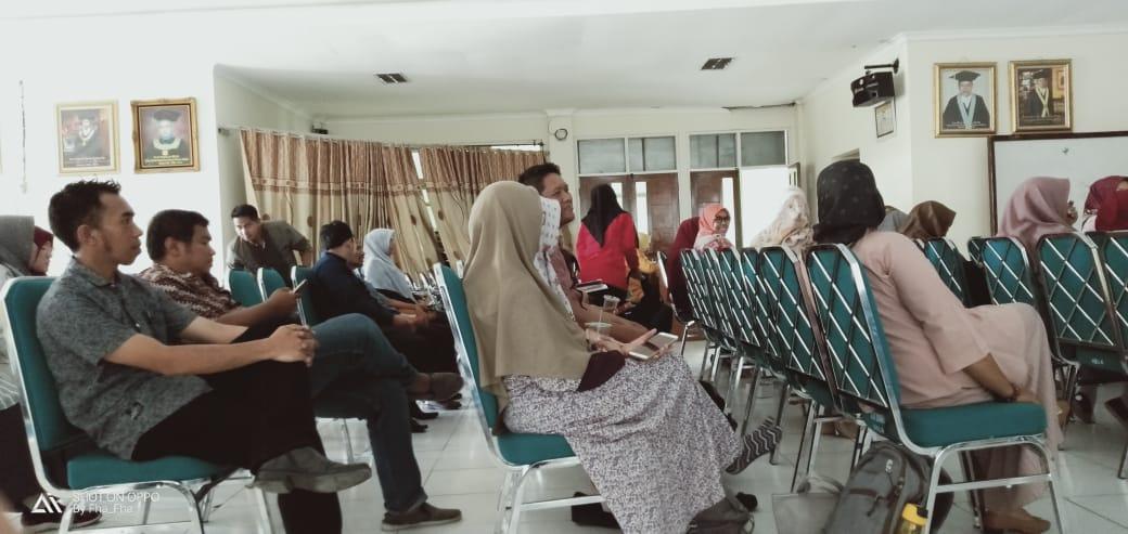 Coaching Pengawas UAS Semester Ganjil 2019/2020 UNIDHA
