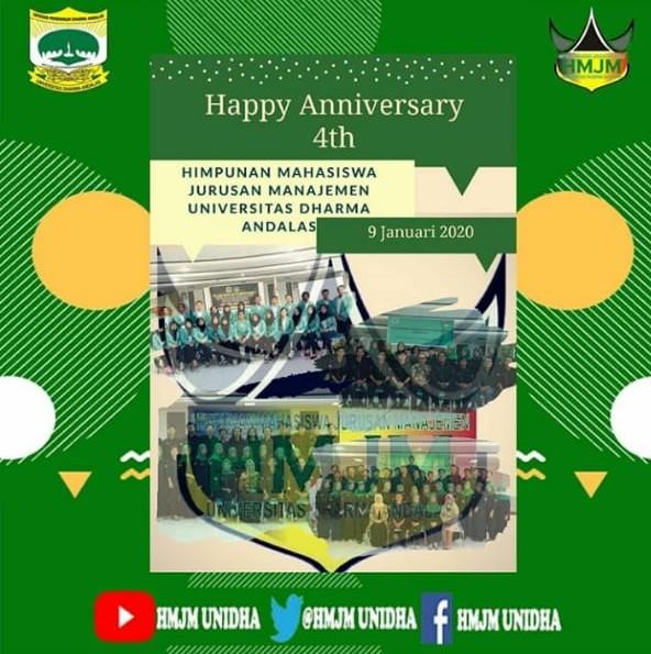 4th Anniversary HMJM UNIDHA