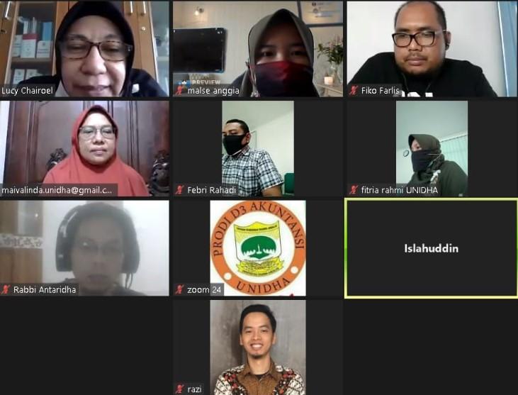 Rapat Persiapan AMI Tahun Ajar 2019/2020 UNIDHA
