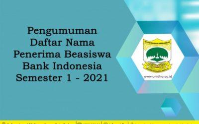 Congratulation! 13 Mahasiswa Prodi S1 Manajemen Menerima Beasiswa Bank Indonesia.