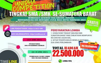 PENGUMUMAN: Pemenang Lomba UNIDHA Competition Tahun 2021