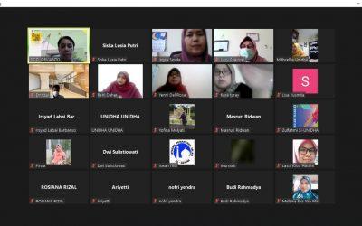 Rapat Ajar Semester Ganjil 2021/2022 Dosen Tetap UNIDHA